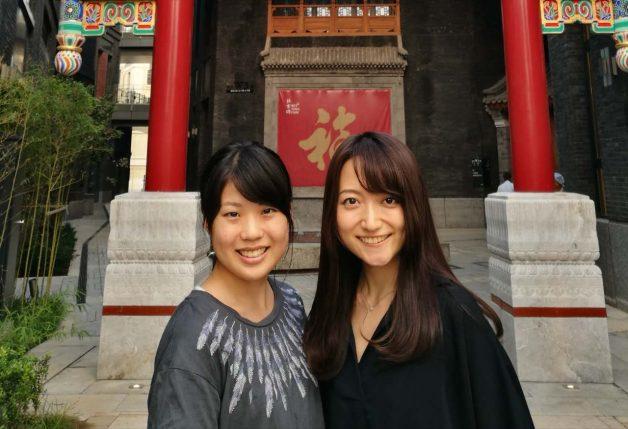 人物紹介 (左)秋山 (右)蘇