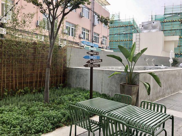 庭+プール